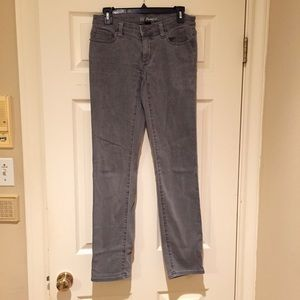 Victoria's Secret gray pencil fit jeans, size 2